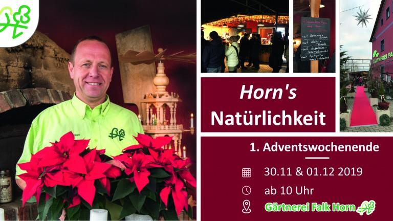 Postkarte_Einladung_Weihnachtsmarkt_Gärtnerei_Falk_Horn_2019_Vorne